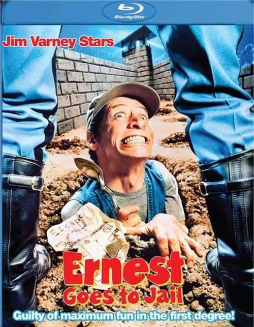 Ernest Goes To Jail Blu-ray