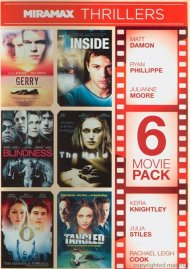 6 Movie Pack: Miramax Thrillers Movie