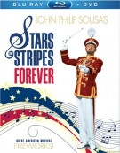 Stars And Stripes Forever (Blu-ray + DVD Combo) Blu-ray