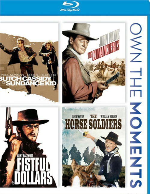 Butch Cassidy And The Sundance Kid / The Comancheros / A Fistful Of Dollars / Horse Soldiers Blu-ray