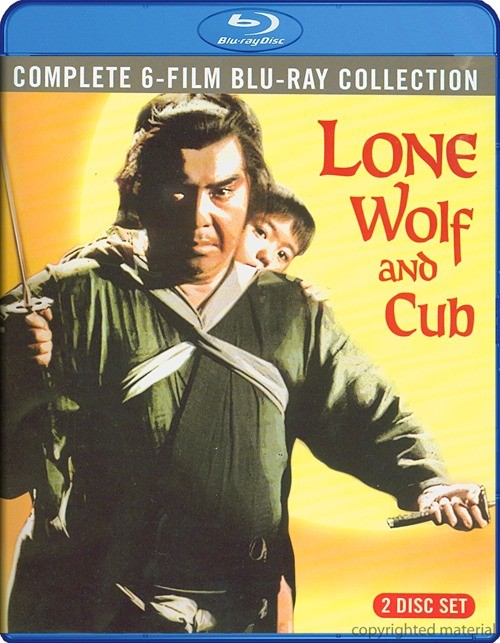 Lone Wolf And Cub: Complete 6 Film Collection Blu-ray