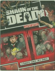 Shaun Of The Dead (Steelbook + Blu-ray + DVD + Digital Copy + UltraViolet) Blu-ray