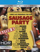 Sausage Party (4K Ultra HD + Blu-ray + UltraViolet)   Blu-ray