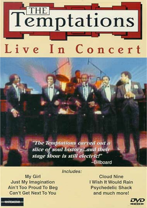 Temptations, The: Live In Concert Movie