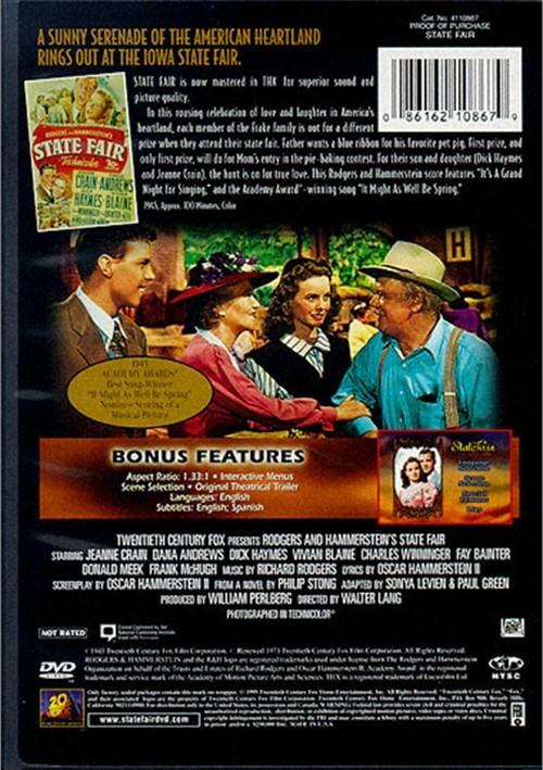 State Fair (DVD 1945) | DVD Empire
