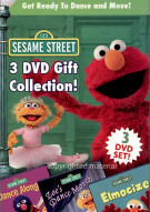 Sesame Street 3 DVD Gift Collection Movie
