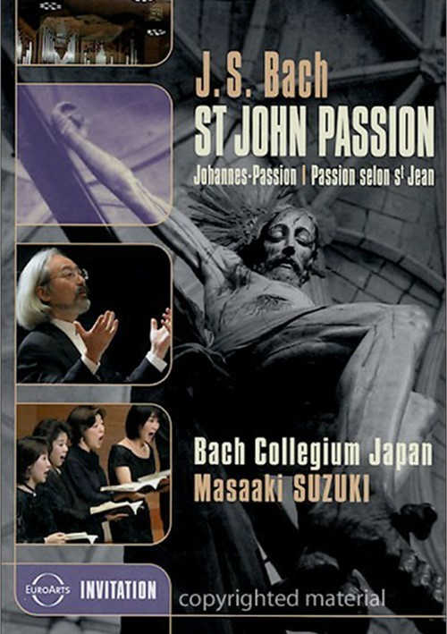 Bach: St. John Passion - Bach Collegium Japan Masaaki Suzuki Movie