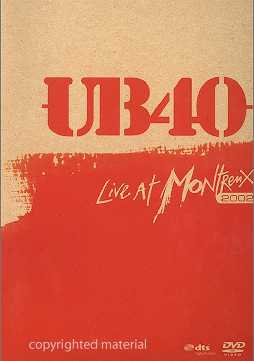 UB40: Live At Montreux 2002 Movie