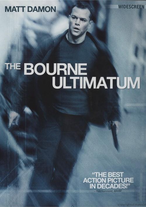 Bourne Ultimatum, The (Widescreen) Movie