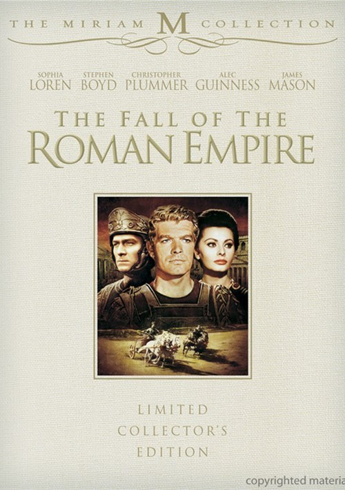 Fall Of The Roman Empire, The: 2 Disc Limited Collectors Edition Movie