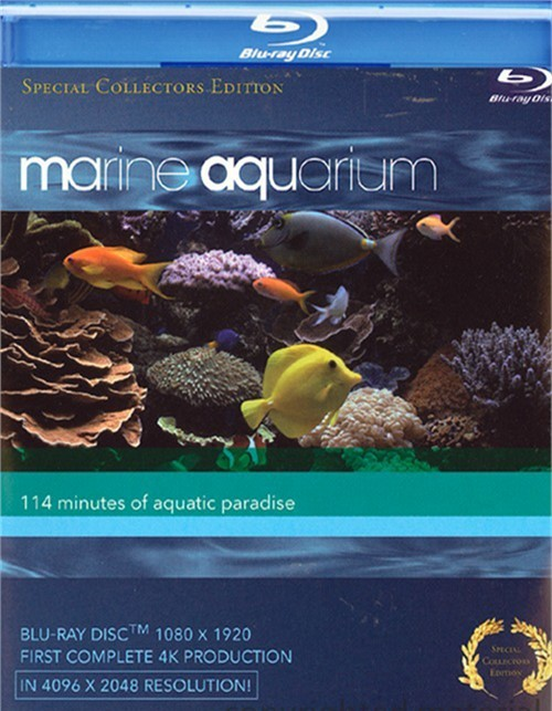 Marine Aquarium: Special Collectors Edition Blu-ray
