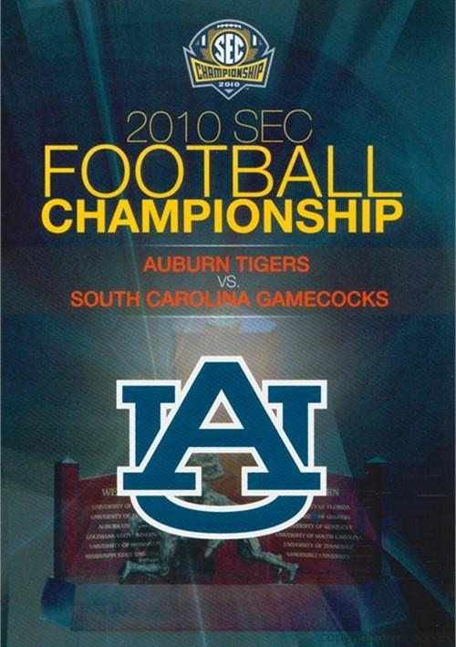 2010 Sec Championship Auburn Vs South Carolina Dvd 2010