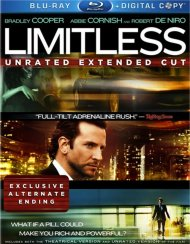 Limitless: Unrated Extended Cut Blu-ray