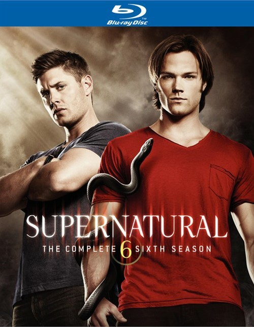 Supernatural: The Complete Sixth Season Blu-ray