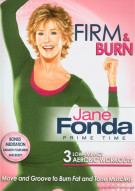 Jane Fonda Prime Time: Firm & Burn Low-Impact Cardio Movie