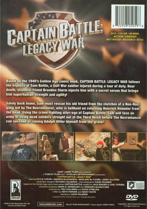Captain Battle Legacy War Dvd 2013 Dvd Empire