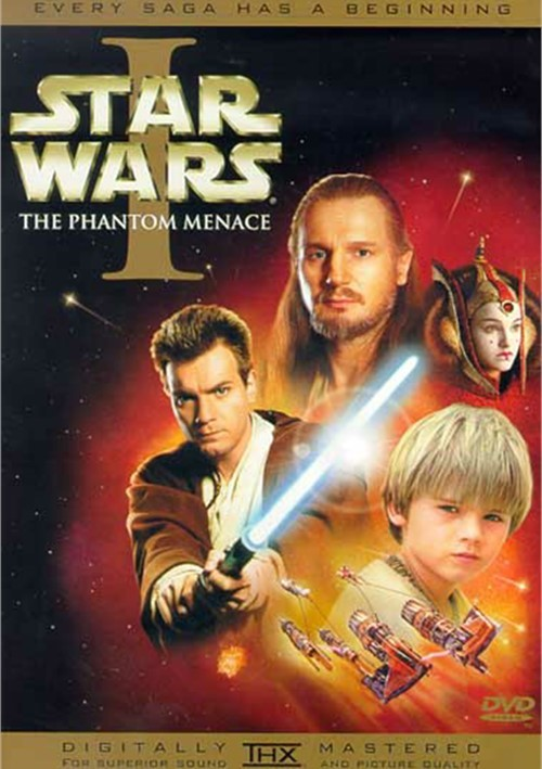 Star Wars Episode I: The Phantom Menace (Widescreen) Movie