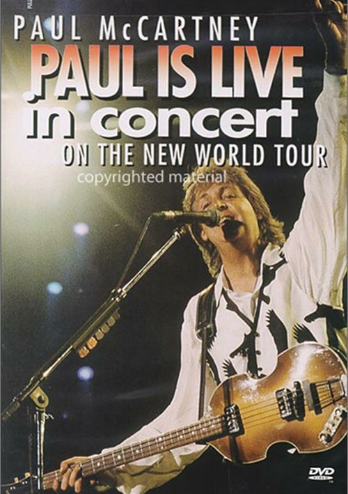 Paul McCartney: Paul Is Live In Concert  Movie
