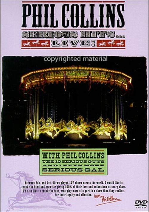 Phil Collins: Serious Hits... Live! Movie
