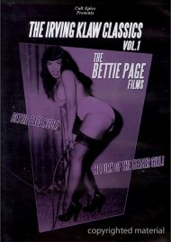 Irving Klaw Classics, The: Volume 1 - The Bettie Page Films Movie