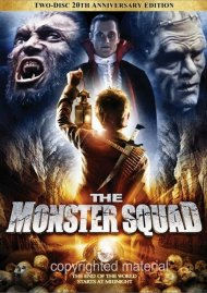Monster Squad, The: 20th Anniversary Edition Movie