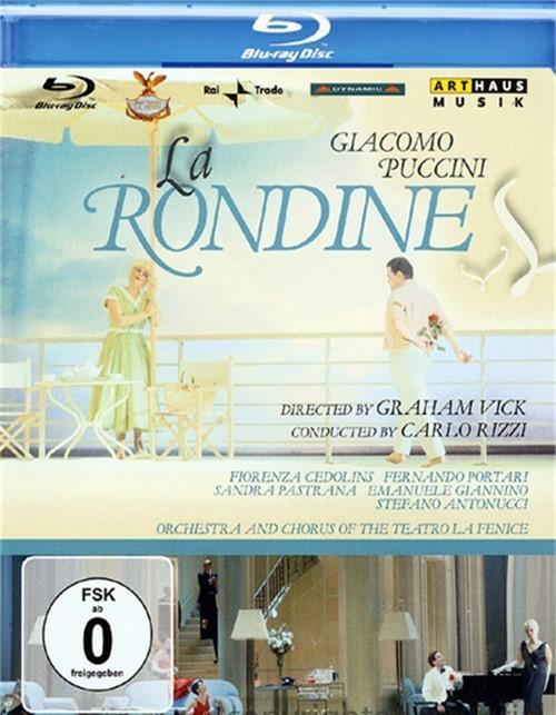 Giacomo Puccini: La Rondine Blu-ray