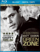 Green Zone Blu-ray