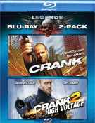 Crank / Crank 2: High Voltage (Double Feature) Blu-ray