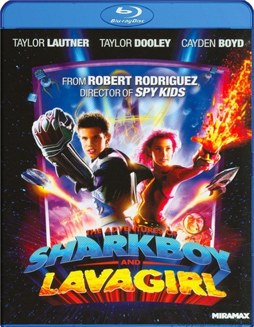 Adventures Of Sharkboy And Lavagirl, The Blu-ray