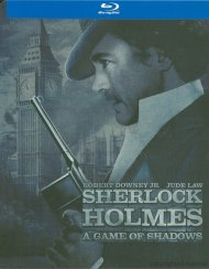 Sherlock Holmes: A Game Of Shadows (Steelbook) Blu-ray