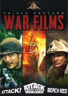 War Films Triple Feature: Attack! / Attack On The Iron Coast / Beach Red Movie