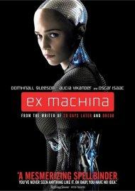 Ex Machina (DVD + UltraViolet) Movie