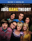 Big Bang Theory, The: The Complete Eighth Season (Blu-ray + DVD + UltraViolet) Blu-ray
