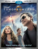 Tomorrowland (Blu-ray + DVD + UltraViolet) Blu-ray
