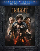 Hobbit, The: The Battle Of The Five Armies - Extended Edition (Blu-ray + UltraViolet) Blu-ray