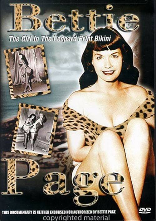 Bettie Page: The Girl In The Leopard Print Bikini Movie