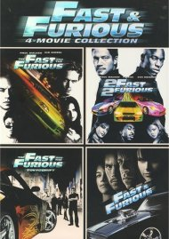Fast & Furious: 4 Movie Collection Movie