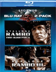 Rambo: First Blood Part II / Rambo III (Double Feature) Blu-ray