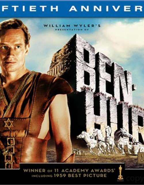 Ben-Hur: 50th Anniversary Ultimate Collectors Edition Blu-ray