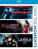 Daredevil / Elektra / The League Of Extraordinary Gentlemen Blu-ray