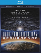 Independence Day: Resurgence (Blu-ray 3D + Blu-ray + UltraViolet) Blu-ray