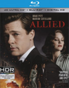 Allied (4K Ultra HD + Blu-ray + UltraViolet)   Blu-ray