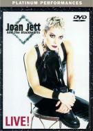 Joan Jett And The Blackhearts: Live! Movie
