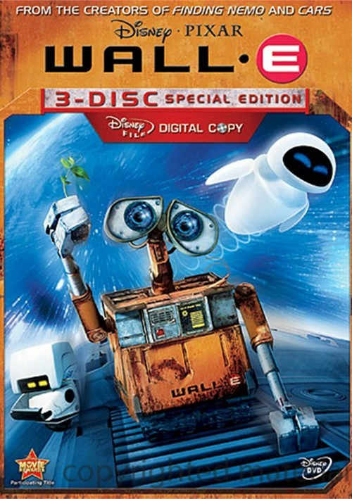 WALL-E: 3-Disc Special Edition Movie