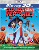 Cloudy With A Chance Of Meatballs (Blu-ray 3D) Blu-ray