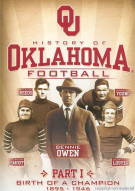History Of Oklahoma Football Movie