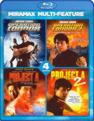 Jackie Chan: 4 Film Collection Blu-ray
