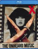 X: The Unheard Music Blu-ray