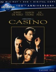 Casino (Blu-ray + DVD + Digital Copy) Blu-ray