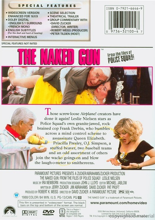 LAgent Fait la Farce - The Naked Gun: From the Files of